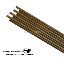 2015 New SP500 32″ Wood Camo Carbon Shaft For DIY Carbon Arrows For Tradtional Bow,20PCS/LOT+Free Shipping
