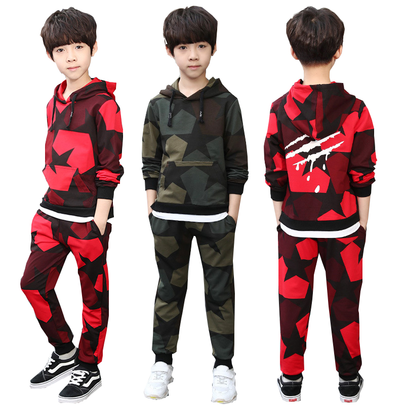 Boys clothes sport suit boys clothing sets school kids autumn suit camo long sleeve costume children clothing kids tracksuit 12Y kids clothes autumn winter boys gold velvet clothing set school children warm thicken sport suit fashion kids tracksuit