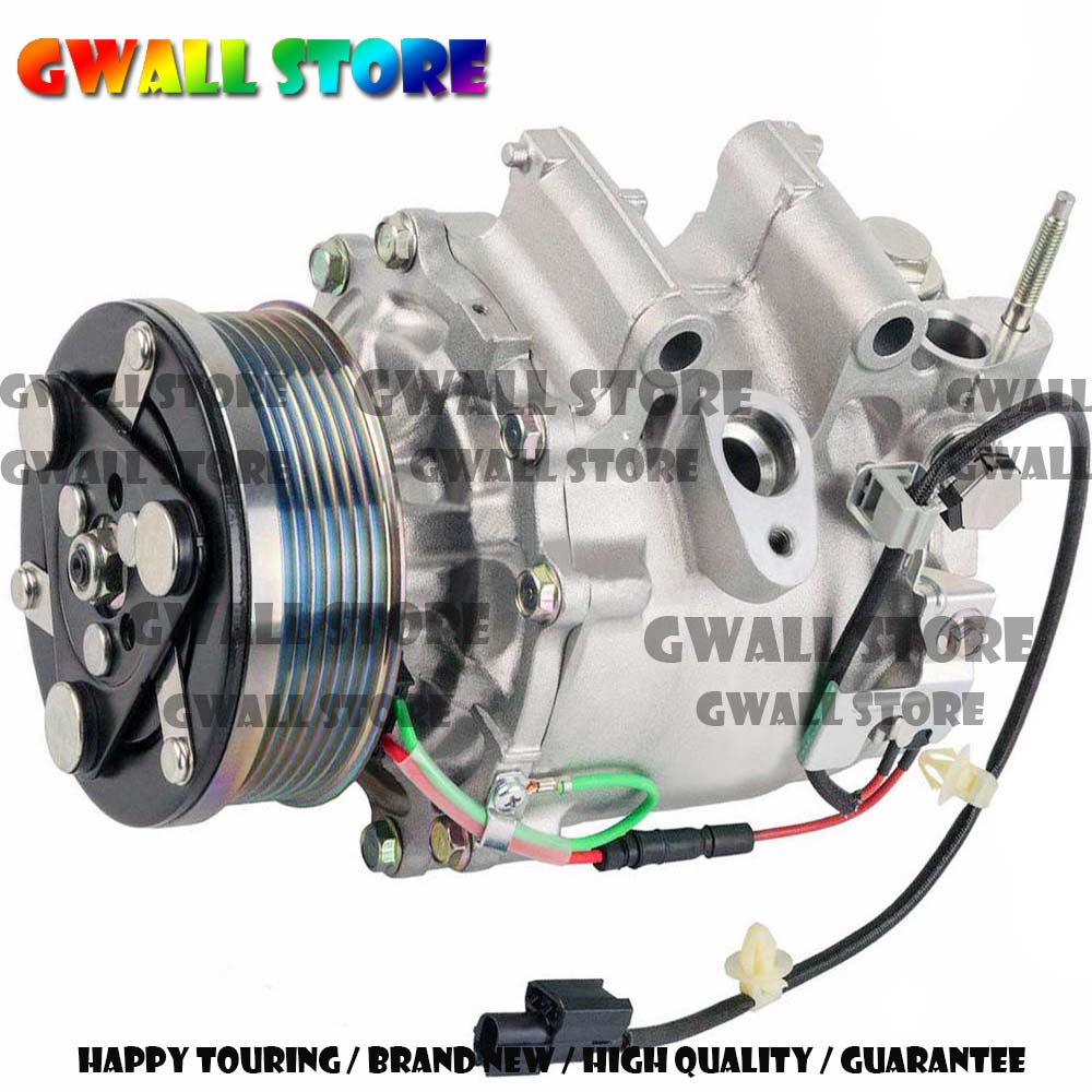 Compresseur CA Pour Honda Civic DX EX LX 1.8L 8FK351121051 38810RNA004 38810RNAA02 38800RNCZ010 TSP0155859 8FK351121051 2006-2011
