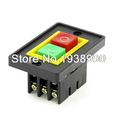 AC 380V 2KW I/O 2 Positions Start-up Motor Self Locking Electromagnetic Switch