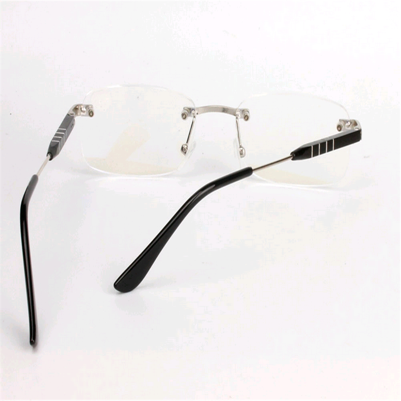 Rimless Clear Glasses : 2016 High Quality Aluminum Magnesium Rimless Clear Lens ...