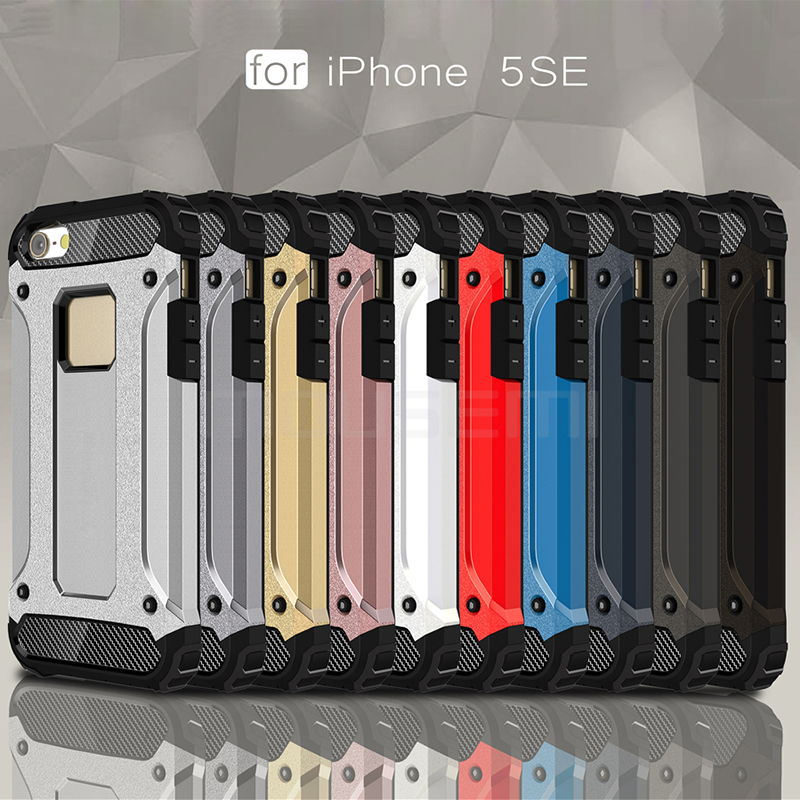 iPhone 5s Case Silicone Luxury Shockproof Case Cover 5