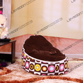 FREE SHIPPING baby bean bag with 2pcs coffee up cover baby beanbag baby chair baby seat bean bag covers only
