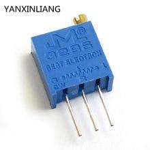 100 шт./лот 3296w-1-204lf 3296 Вт 204 200 k ом топ регулировка многооборотный триммер потенциометр высокоточный переменный резистор