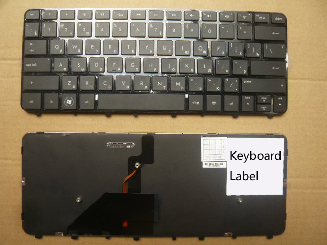 New notebook laptop keyboard for HP FOLIO13 RU/Russian  layout new laptop keyboard for samsung np900x3a 900x3a ru russian layout