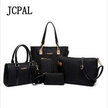 Jcpal New Arrival Rushed Letter Zipper Famous Brand Women Bag Top handle Bags 2017 Messenger Handbag