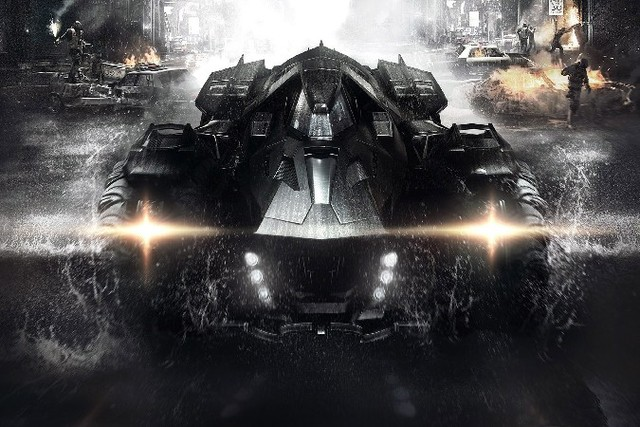 Paintings Wall Pictures For Living Room Art Batmobile Poster Batman Arkham Knight New Pc