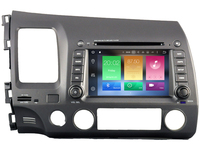 Octa 8 Core Android CAR DVD Player FOR HONDA CIVIC 2006 2011 Car Audio Gps Stereo