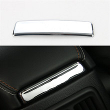 Sosung Car-Styling 1PCS ABS Interior Auto Seat Armrest Box Decorative Sequin Frame Cover Trim For Jeep Compass 2017+  цена и фото