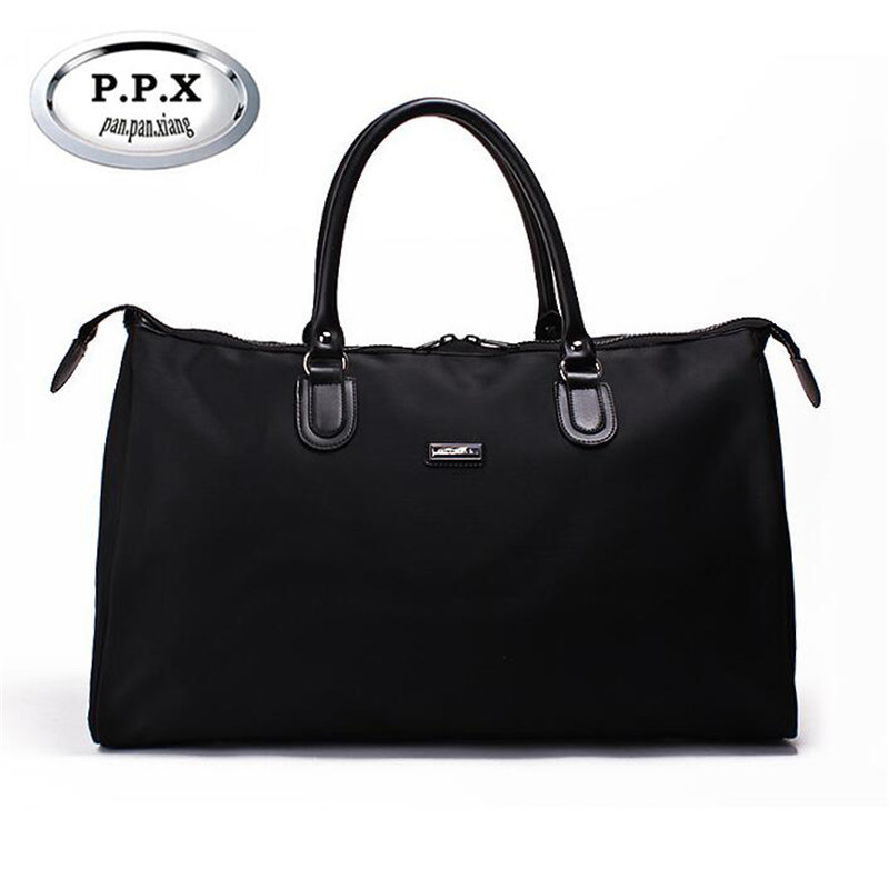 P.P.X Folding Travel Bag Ladies Traveling Bag Women Handbag Weekend Ladies Waterproof Large Capacity Men Duffle Bags M430