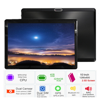 Free shipping 2019 S119 10.1' Tablets Android 8.0 Octa Core 32GB 64GB ROM Dual Camera 8MP Dual SIM Tablet PC Wifi GPS bluetooth