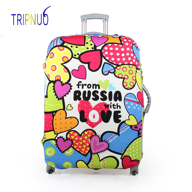 TRIPNUO Luggage Cover Dust-proof Travel Bag Cover 18-30 Inch Pink Suitcase Protective Covers Portable Travel Accessories Luggage Covers
