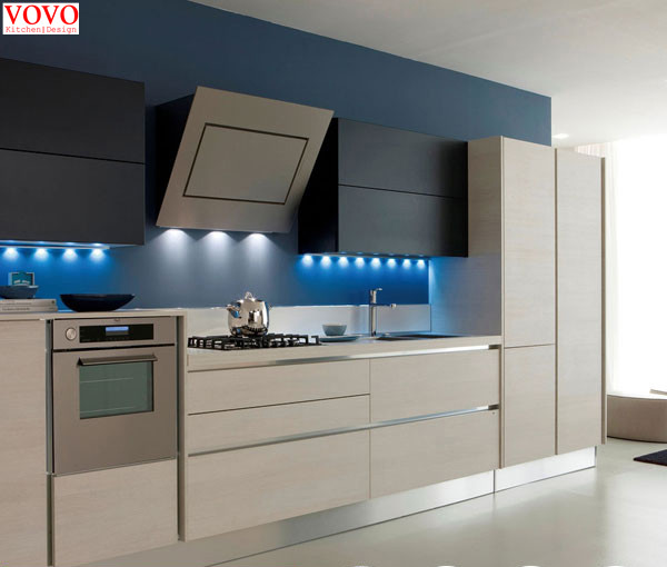 High Glossy Lacquer Kitchen Furniture Manufacturer On