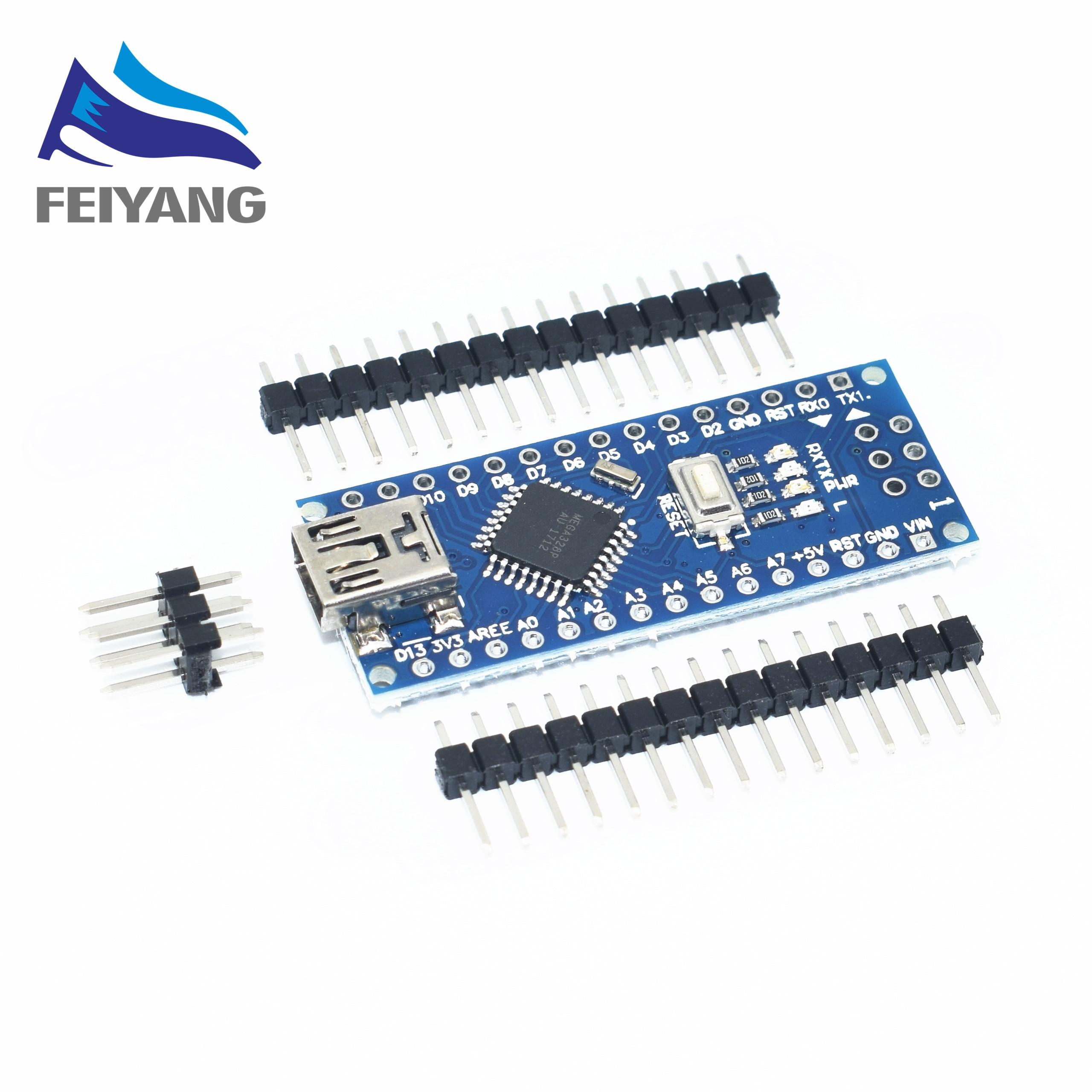 Nano Mini-USB С загрузчика совместимый для arduino Nano 3,0 контроллер CH340 драйвер USB 16 мГц Nano v3.0 ATMEGA328P