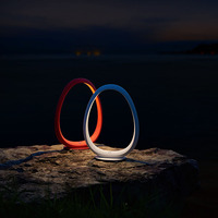 YEATION Creative Ring Shape Lamp Touch Adjustment Light Lamp Magnet Design Lamps