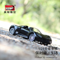 The new hot 1:24 alloy car model toys die-casting and toy cars to collect children's toys birthday gifts