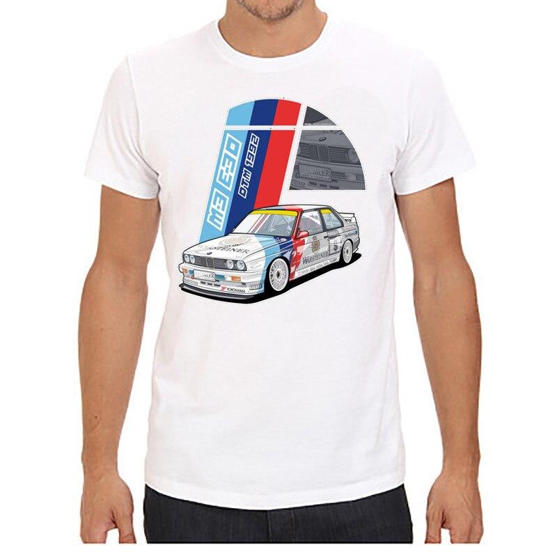 Мужские футболки с коротким рукавом и круглым вырезом, принт с красной машиной, плюс размер, топы, футболки, брендовые, хорошее качество, удобные футболки, топы - Цвет: 1