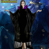 New Disfraces Woman Halloween Vampire Costume Witch Magician Cosplay Sorceress Role play Carnival Easter Thanksgiving Day dress