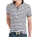 2016 Men Striped polo shirt solid Tops Tees Shirt Summer Casual Clothing Cool Tee Camisa Polo Masculina