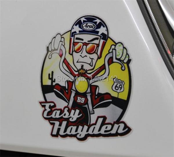 Moto Gp Nicky Hayden 69 Stickers Vinyl Reflective Hayden Cartoon
