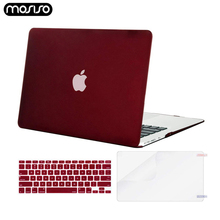 MOSISO Matte Laptop Case For MacBook Pro with Touch Bar A1706/A1708/A1989 Hard for mac book New 13 15 inch A1707/A1990