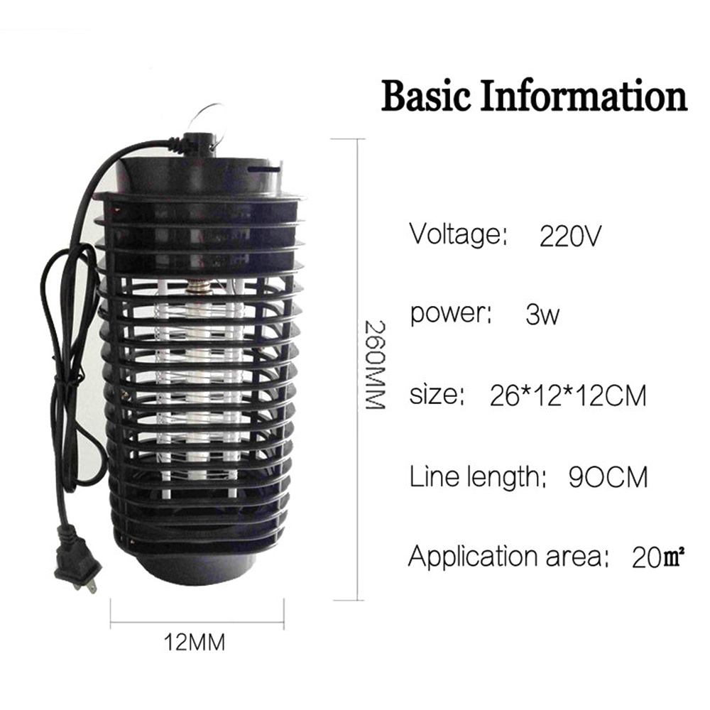 003  ZINUO 3W Mosquito Killer Lamp AC220V/110V Residence Electronics Mosquito Killer Lure Moth Fly Wasp Led Night time Lamp Bug Zapper HTB1aCLitYGYBuNjy0Foq6AiBFXa0