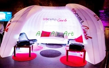 Awesome Pop Up Exhibition Display enclosure Wall inflatable exhibition wall for display advertising