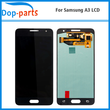 20Pcs For Samsung Galaxy A3 A300H A300F A300M LCD Display Touch Screen Digitizer Assembly Replacement Made in China High Quality цена