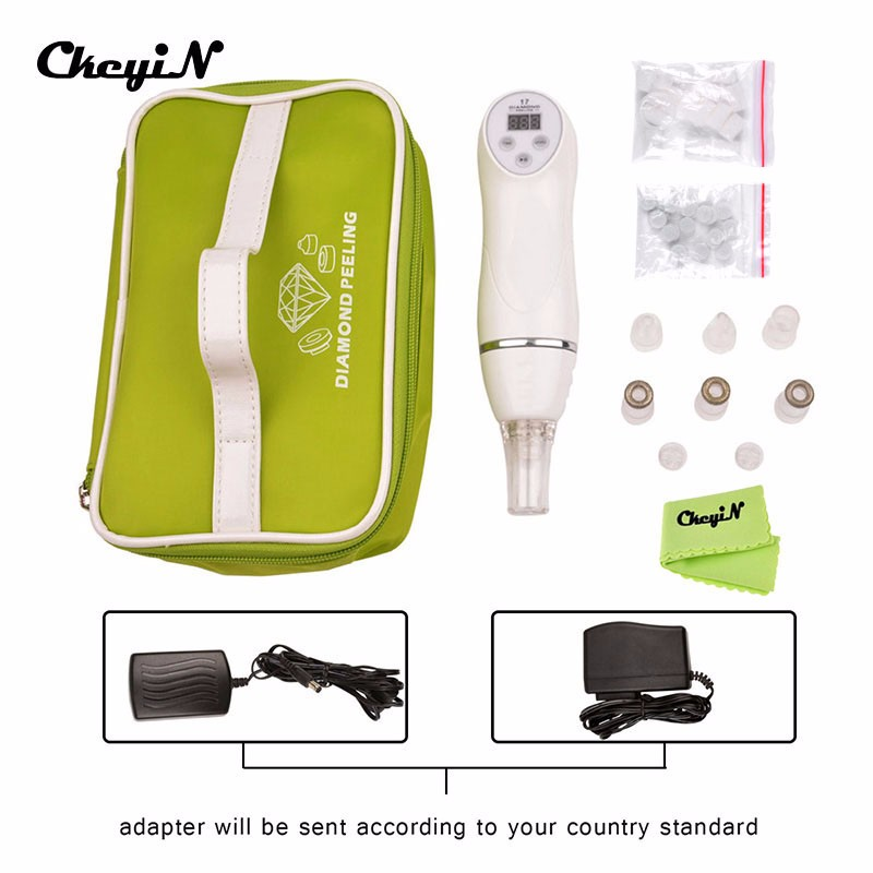 Portable 110-240V Multifunction Diamond Peeling Facial Spa Device Anti-aging Skin Peeling Dermabrasion Device Face Care Machine diamond dermabrasion device skin peeling beauty spa machine anti aging vacuum remove blackhead acne face care equipment