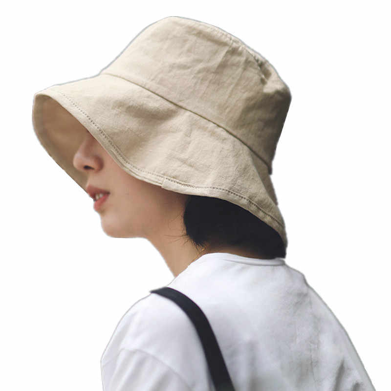 cd3b671b1 Detail Feedback Questions about Summer Bucket Hat Cotton Fishing Hat ...