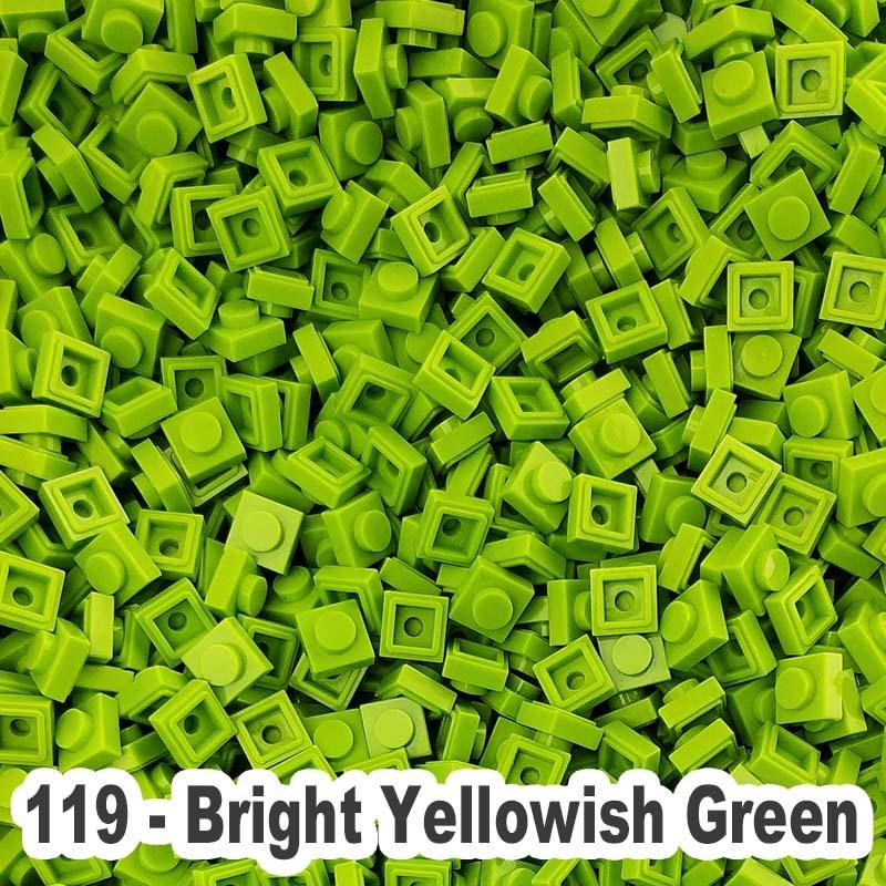 LEGO Yellowish Green Brick 1x2 100 to 1000 Pieces