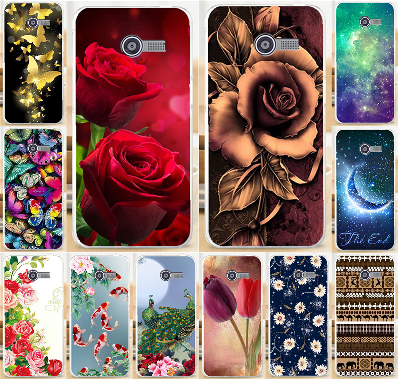 Free Shipping Colorful Brilliant Rose Peony Flowers Background PC Phone Case Cover Skin Shell For ASUS Zenfone4 Zenfone 4 A400CG