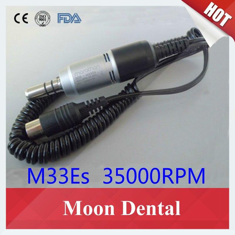 Dental Lab 35 K RPM SDE-M33Es Électrique Moteur Utilisé avec Marathon Micromoteur Polisseuse Haute Qualité