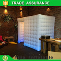 Lighting best quality inflatable portable photo booth cabine