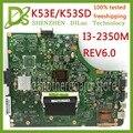 KEFU K53E K53SD материнская плата для ноутбука Asus A53S K53SD K53S K53E материнская плата DDR3 тестовая работа 100%