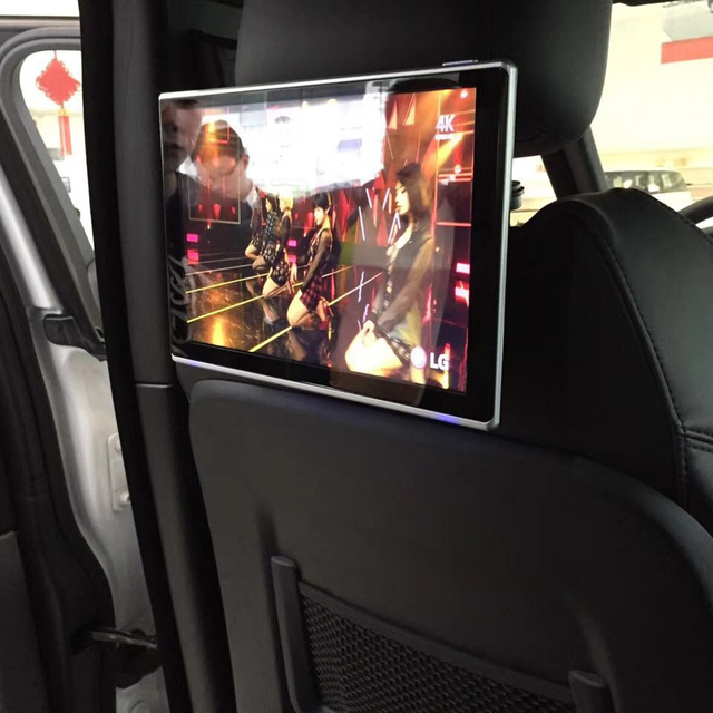 In Car Tv Screens Headrest With Android Monitor For Dodge Durango 2017 Rear Seat Entertainment 11 8