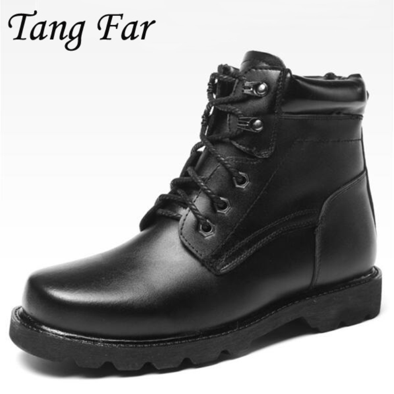 Big Size 48 39 Men Military Army Boots Wool Winter Warm Combat Infantry Tactical Boot Askeri