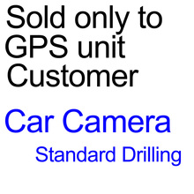 Car Rear View Reverse Parking Kit Back up Camera with Night Standard drilling version only for GPS Radio unit Customer