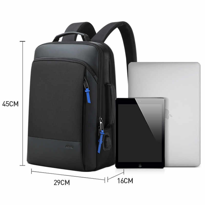 Bopai 2019 男性のバックパック拡張週末旅行のバックパック男性撥水ノートパソコンのバックパックコンピュータバックパック男性 bagpack