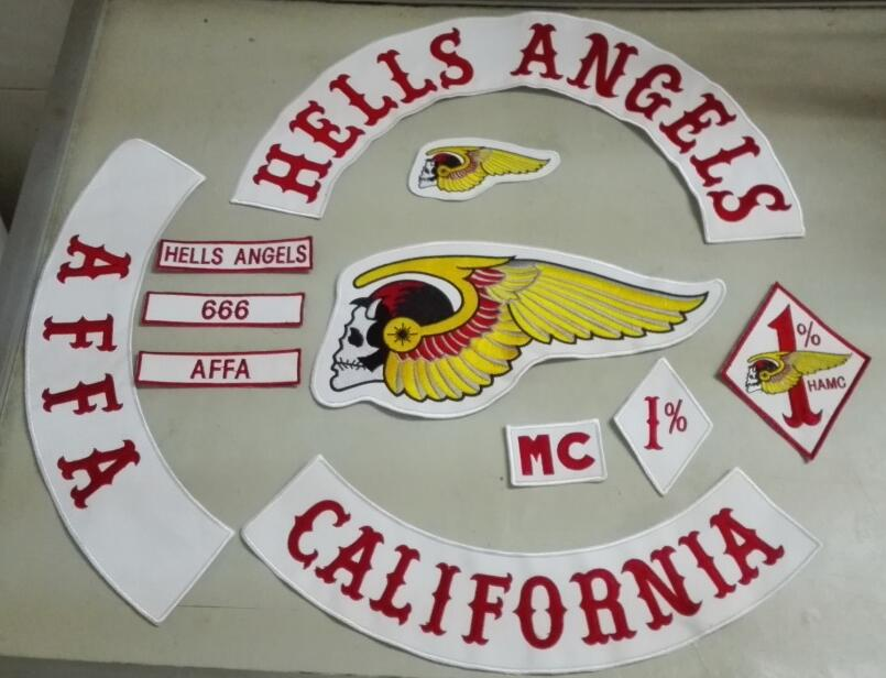 hells angels patch embroidered patches jacket iron patches. Black Bedroom Furniture Sets. Home Design Ideas