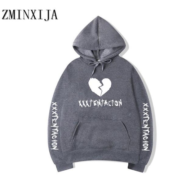 Revenge Kill Fashion Hoodies Men/Women Casual Hip Hop XXXTentacion Sweatshirt Vibes Forever Traksuit Fleece Pullover Hoody