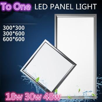AC90-260V piatto ultra sottile ha condotto la luce di pannello 600x600 300x300 1200x300 1200x600 300x600 60x120 18 W 30 W 48 W ufficio giù luce