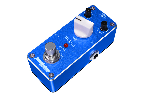 abs 3 blues mini guitar effect pedal high gain output truebypass gain tone level adjustable in. Black Bedroom Furniture Sets. Home Design Ideas