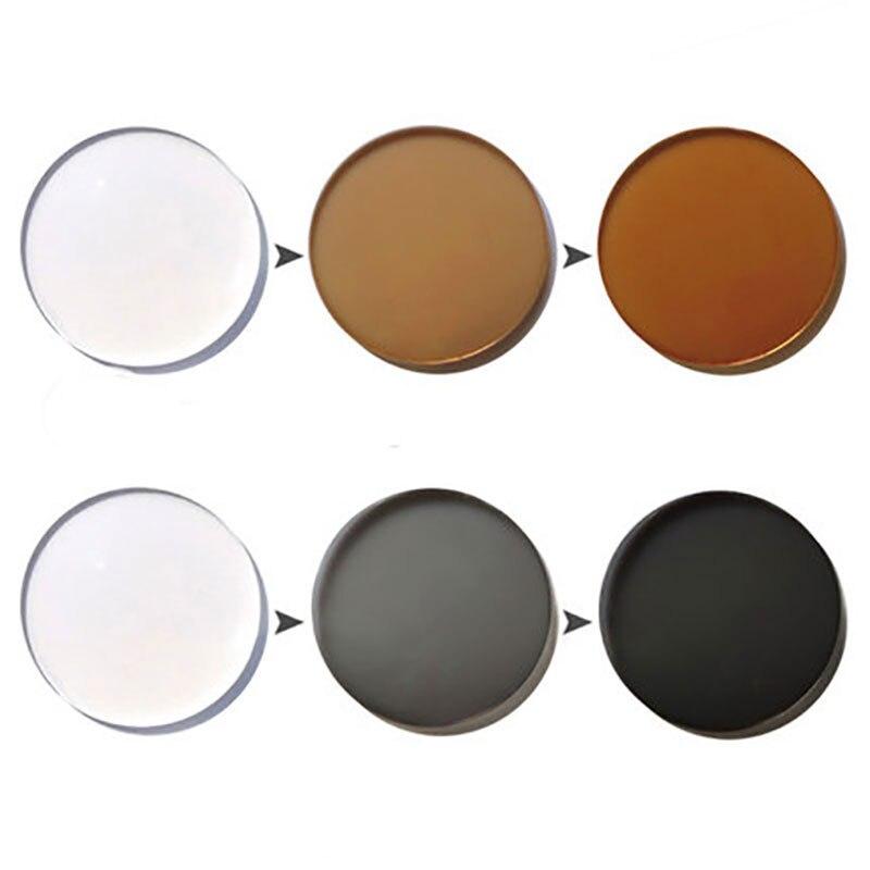 Photochrome Ändern Optische 1 Brillenglas Tiefe Und Beschichtung Leistung Einzigen 67 Schnelle Farbe Vision Asphärische 5U7THq