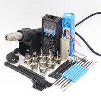 YIHUA 8858 PLUG Portable BGA Rework Solder Station Hot Air Blower Heat Gun Welding Tools