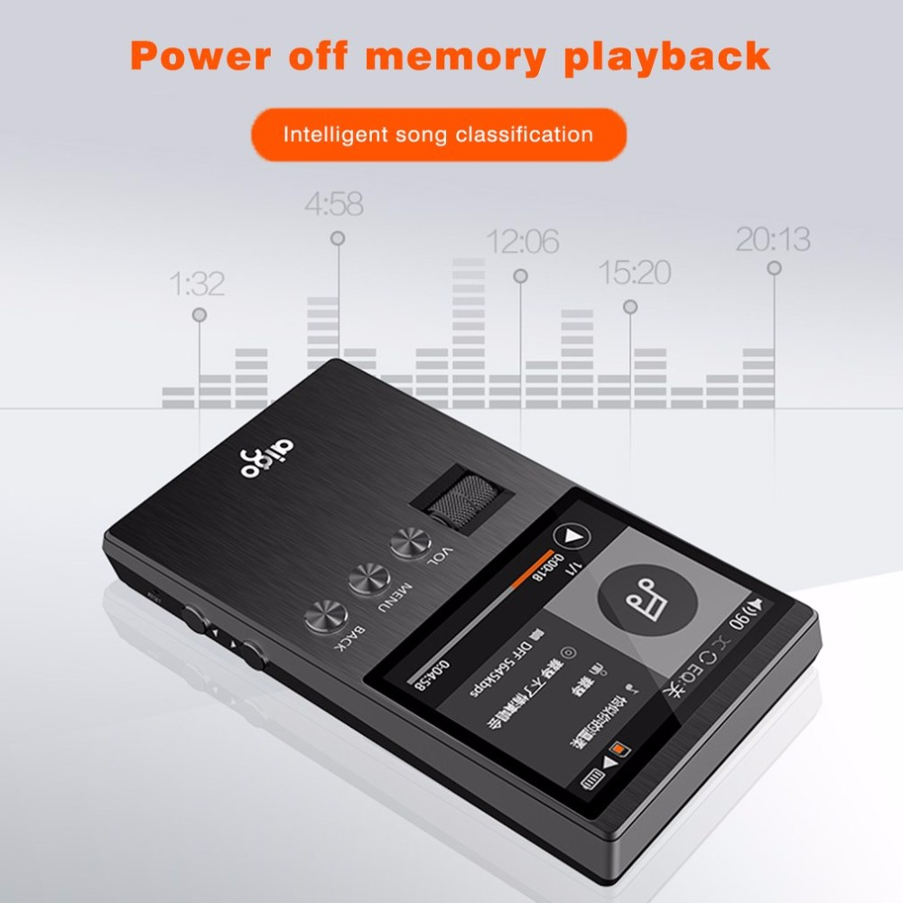 Aigo Mp3 player M6 DSD Mutter Band Verlustfreie Ton Qualität Rad ...