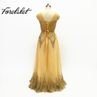Long Bridesmaid Dresses Gold Sequins Wedding Party Dresses for Bridesmaids 2017 Prom Gown A line long bride sister dresses