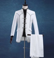 New men The royal palace men stage performances tuxedo suit Slim suits wedding suits