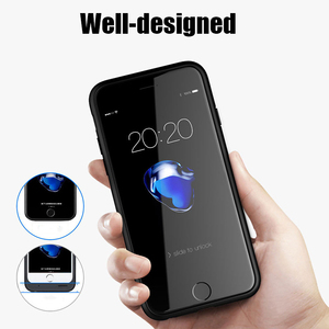 Image 4 - Dual Sim Card Adapter Bluetooth Case for iPhone 6 PLUS 7 PLUS  8 PLUS 6S PLUS Slim Dual Standby Adapter Active Sim Card Holder