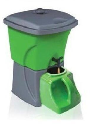 bokashi bucket home use kokashi barrel for food waste fermentation for organic manure composter. Black Bedroom Furniture Sets. Home Design Ideas